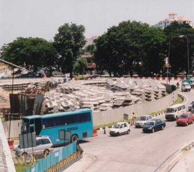 Supply & installation of parapet and New Jersey barrier at Bayan Baru roundabout to Jalan Sultan Azlan Shah /Jalan Aziz Ibrahim junction, Penang for Seri Meraga Construction Sdn Bhd