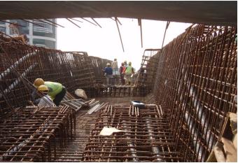 Steel Works For Box Girder Ramp C