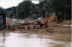 Construction of abutment