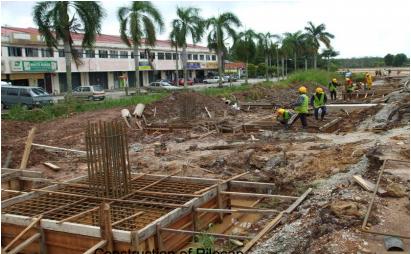 Construction of Pilecap