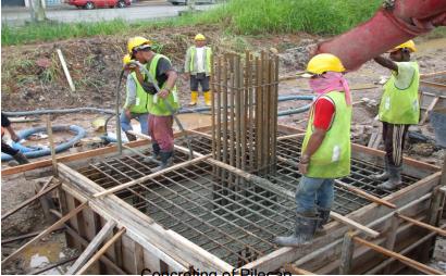 Concreting of Pilecap